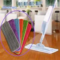 Fiber Spray Mop Head Floor cleaning cloth Paste The Mop To Replace Cloth Household Cleaning Mop Accessories cleaning cloth