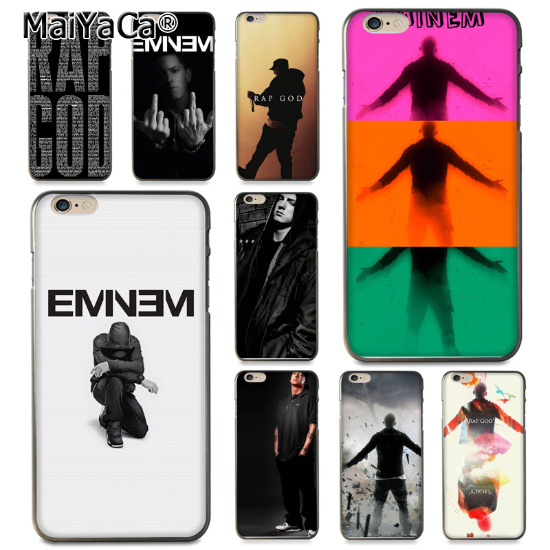 MaiYaCa Eminem Rap God Coque Shell Phone Case For Apple ...