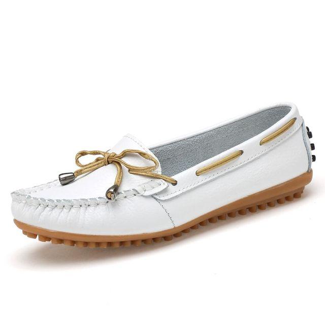 2016 Коровы Кожаные Ботинки Квартир Женщин Повседневная Обувь Мода Женская Обувь Зашнуровать Женщина Квартиры Zapatos Mujer