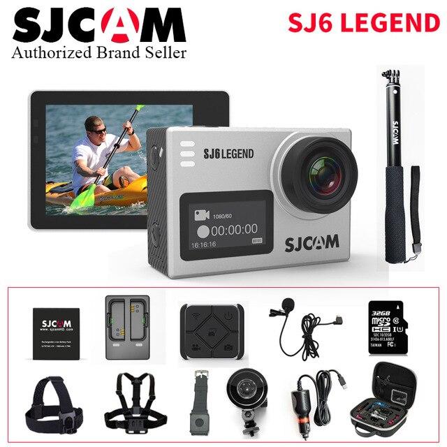SJCAM SJ6 LÉGENDE sport caméra Extérieure dv photographie aérienne plongée étanche anti-shake numérique 4 K HD caméra
