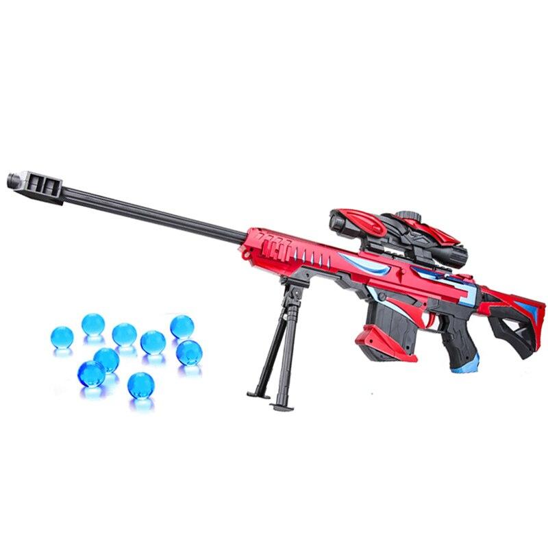 Gel Blaster Orbeez Toy Gun Paintball Airsoft Plastic Water Gun Weapon Game 15M Shoot Range Sniper Kid Gift Outdoor Toys Gun Boys bracelet