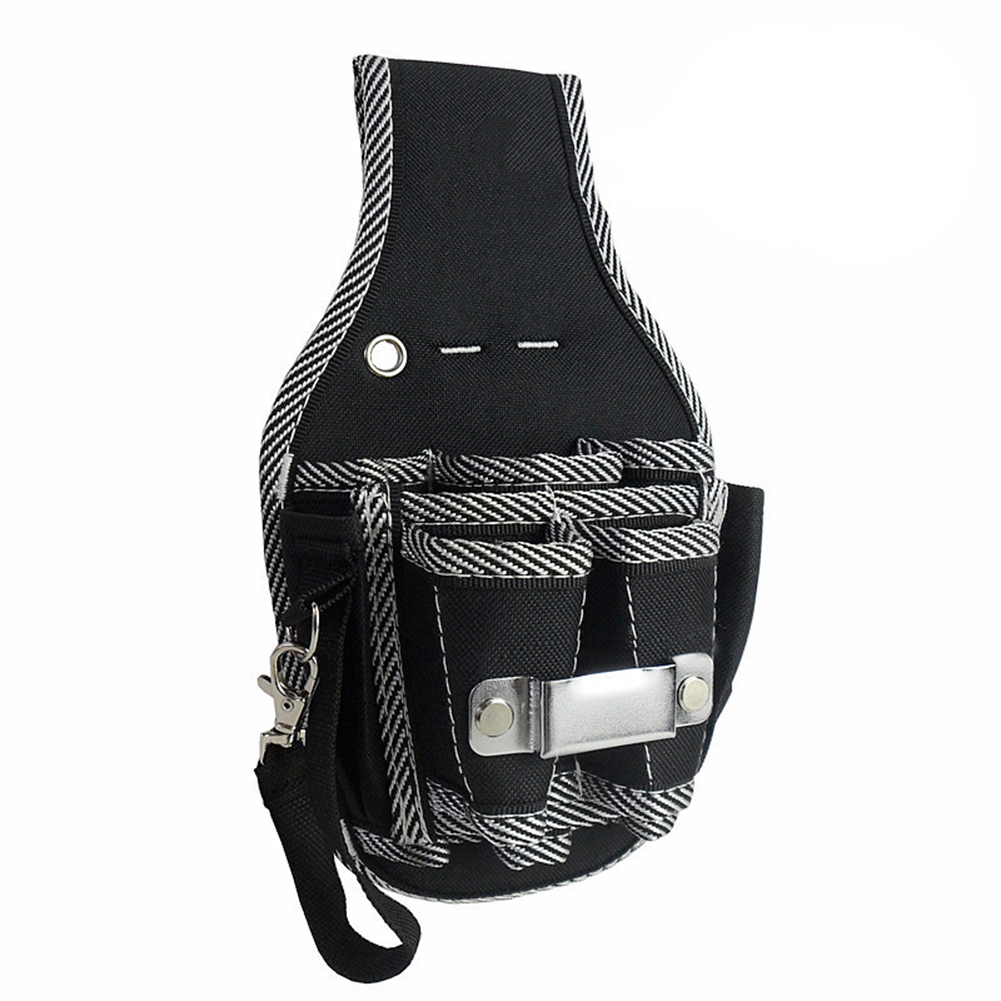 9 In 1 Tool Belt Screwdriver Utility Kit Holder Top Quality 600D Nylon Fabric Tool Bag Electrician Waist Pocket  Pouch Bag