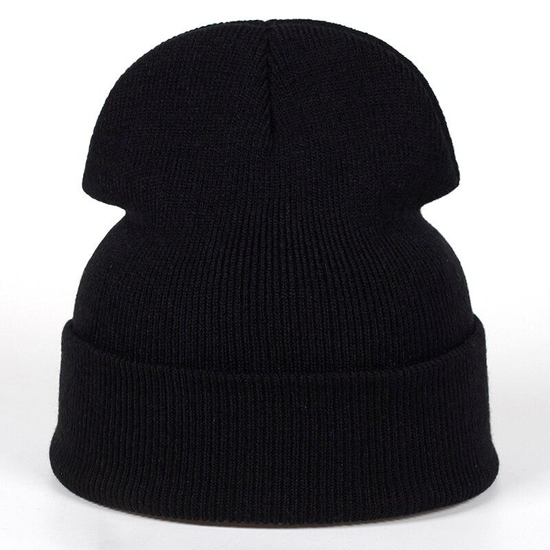 Мужская и женская вязаная кепка Skullies, теплая зимняя Лыжная Кепка в стиле хип-хоп