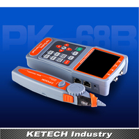 3.5 LCD CVBS Wire Receiver Tracking CCTV Tester Monitor Handheld UTP Cable Test CCTV Camera Video Audio Testing