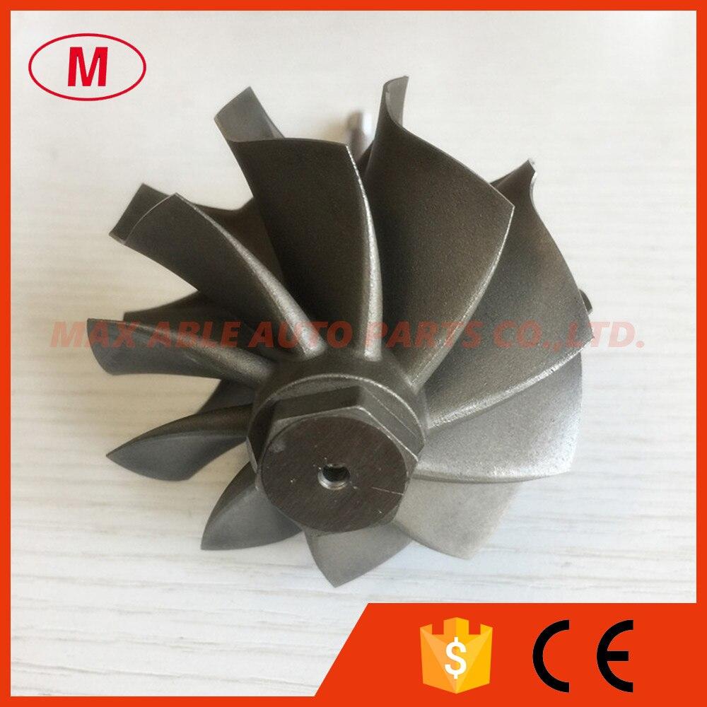 GT3582R 62 35X68mm 10 blades ball bearing turbo turbine wheel shaft turbine shaft wheel