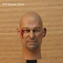 Collection 1/6 amérique étoile mâle tête sculpter accessoire pierre froide Steve Austin tête modèle jouets pour 12 ''HT Action Figure corps
