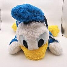 лучшая цена 45cm high quality Donald Duck plush toy stuffed toys doll Soft pillow Plush cushions A birthday present for your child