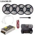 5 м 10 м 15 м 20 м RGB Светодиодные полосы света SMD2835/3528 с 30A Bluetooth светодиодный контроллер комплект драйвера питания
