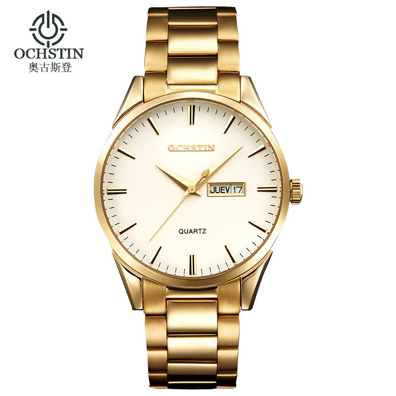 Watches men 2016 OCHSTIN brand Sport Full Steel Dual Date Quartz watch reloj hombre Army Military wristwatch relogio masculino luxury brand casima men watch reloj hombre military sport quartz wristwatch waterproof watches men reloj hombre relogio