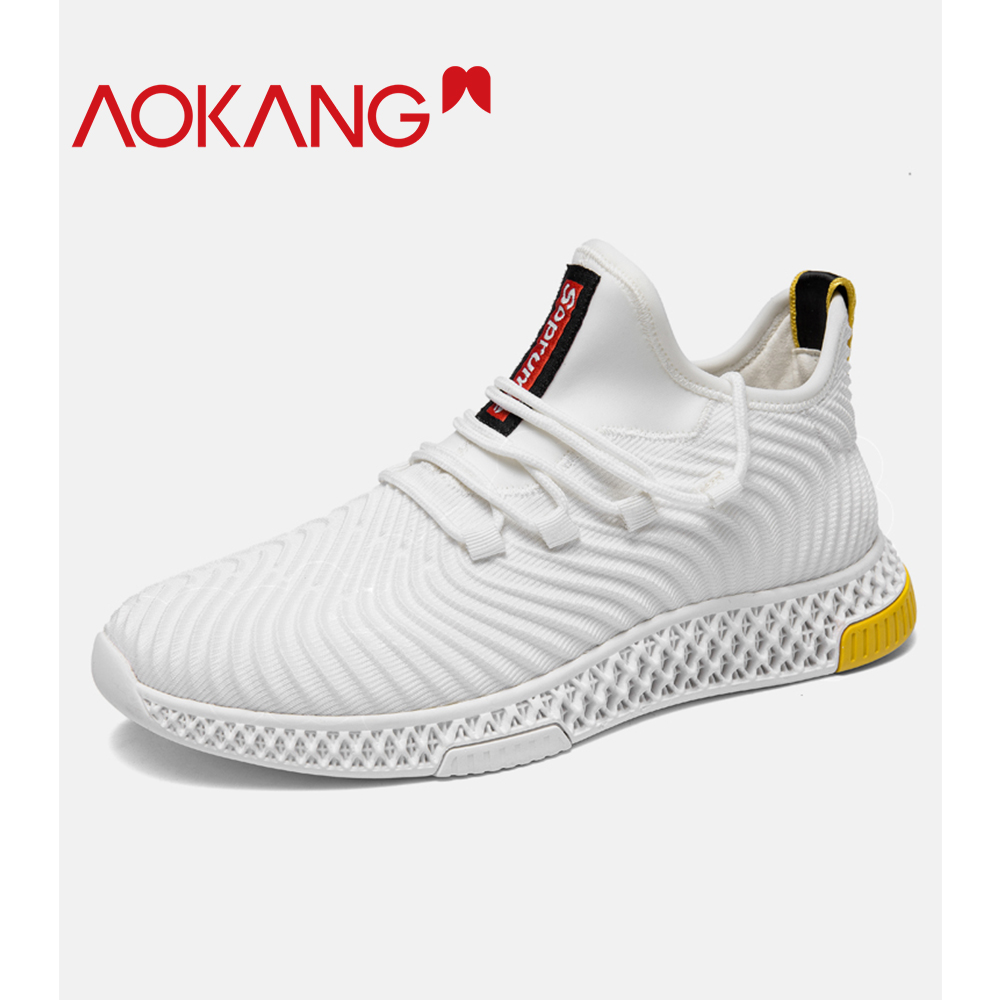 2019 Fashion Trendy Mens Shoes Comfortable Light Breathable Mens Sneakers Run Increase Lace-up Non-slip Mens Casual Shoes Shoes