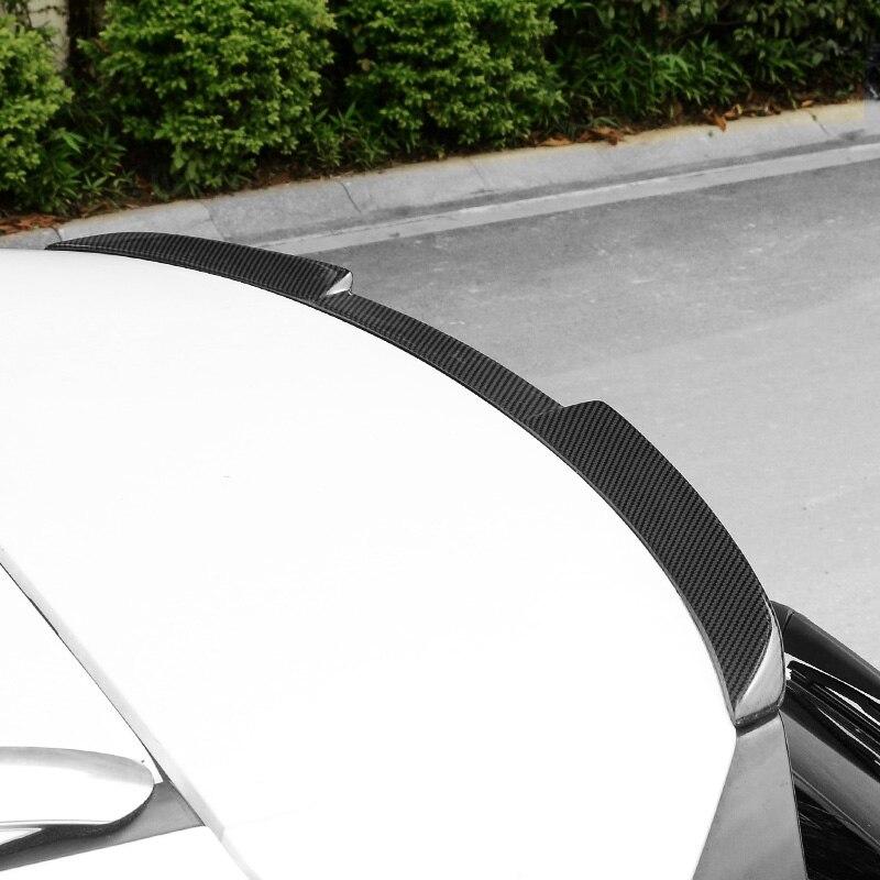 Carbon Fiber Spoiler Wing Rear Roof Window Tail Lip Trim for Lexus IS ES GS RC