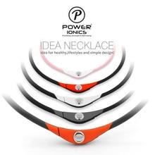 Poder Ionics Unisex collar IDEA 4in1 multifunción Titanium / Ge / fir / Tourmaine 2000 ions / cc Sports impermeable Bio saludable