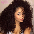 Rosa Hair Products Virgin Brazilian Curly Hair Weave 1 Bundle Brazillian Kinky Curly Crochet Hair Extensions Hot Selling