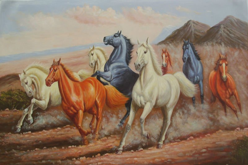Buy home decoration handmade new canvas for Oil paint price