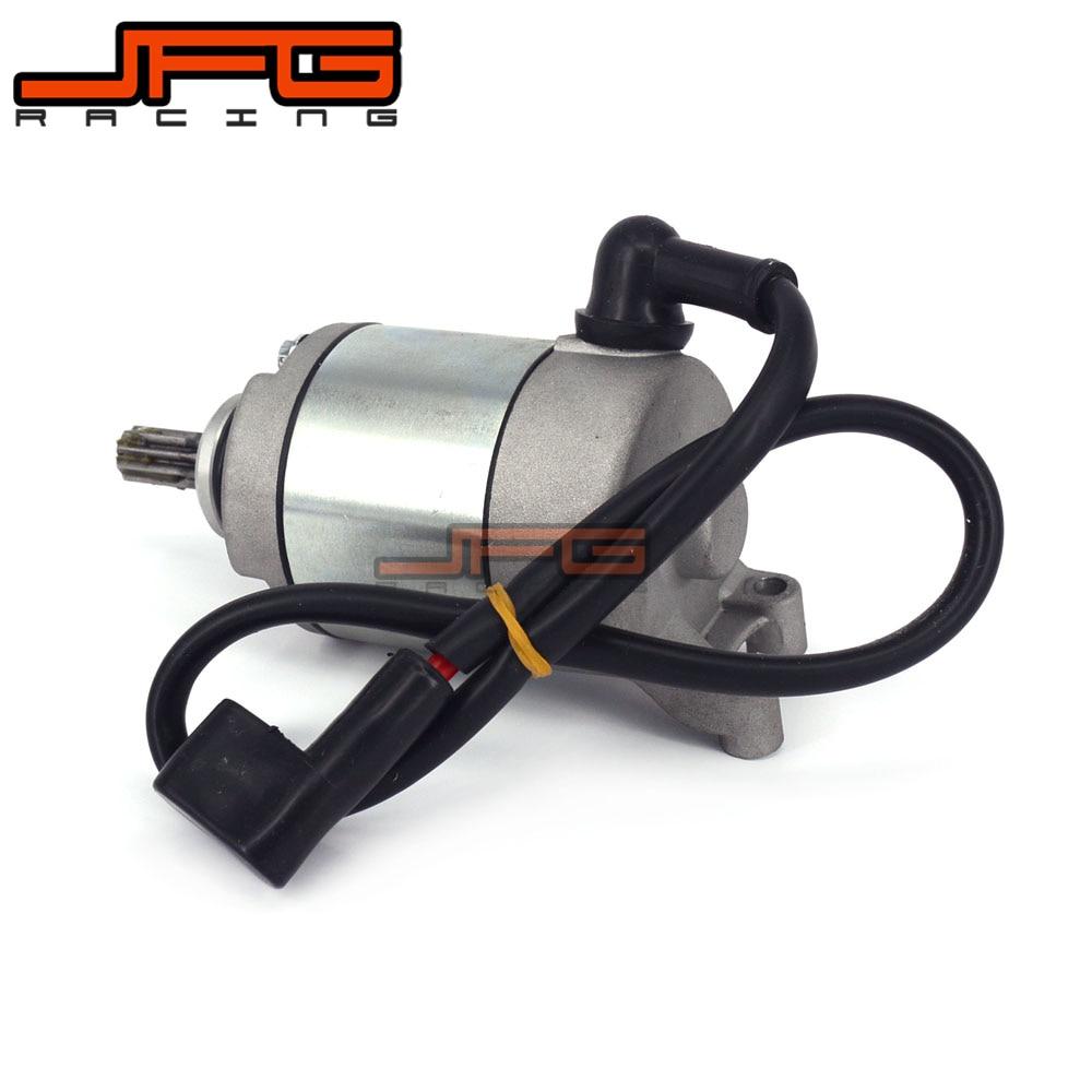 Moteur de démarrage de démarreur électrique de moto pour NC250 250CC accessoires de pièces de moteur de vélo de saleté