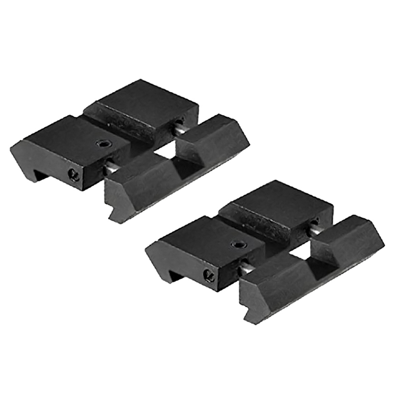 Hunting Accessories Dovetail To Weaver Picatinny Adapter Snap In Rail Adapter 11mm To 20/22mm Tactical Military Gear 2 Pcs/lot