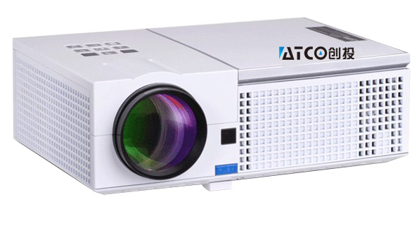 Cheapest CT820HD 5500lumens Video HDMI USB TV 1280x800 Full HD 1080P Home Theater 3D LED projector Projetor proyector beamer