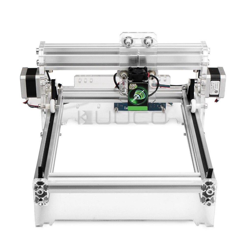 CNC Laser Engraver, 500mW Mini USB Laser Cutting Engraving Woodwork Machine Tag Laser Marking Signmaking Plotter Printer