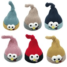 Baby Girls Boys Autumn Winter Warm Cartoon Cute Hats High Quality Kids Fashion Soft Cotton New Elastic Kawaii Clothing Caps(China)