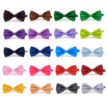 2017 New Fashion Boutique Mens Bow Ties for Men Groom Wedding Party Women Butterfly Bow Tie Solid Bowtie Men Gravata Cravate
