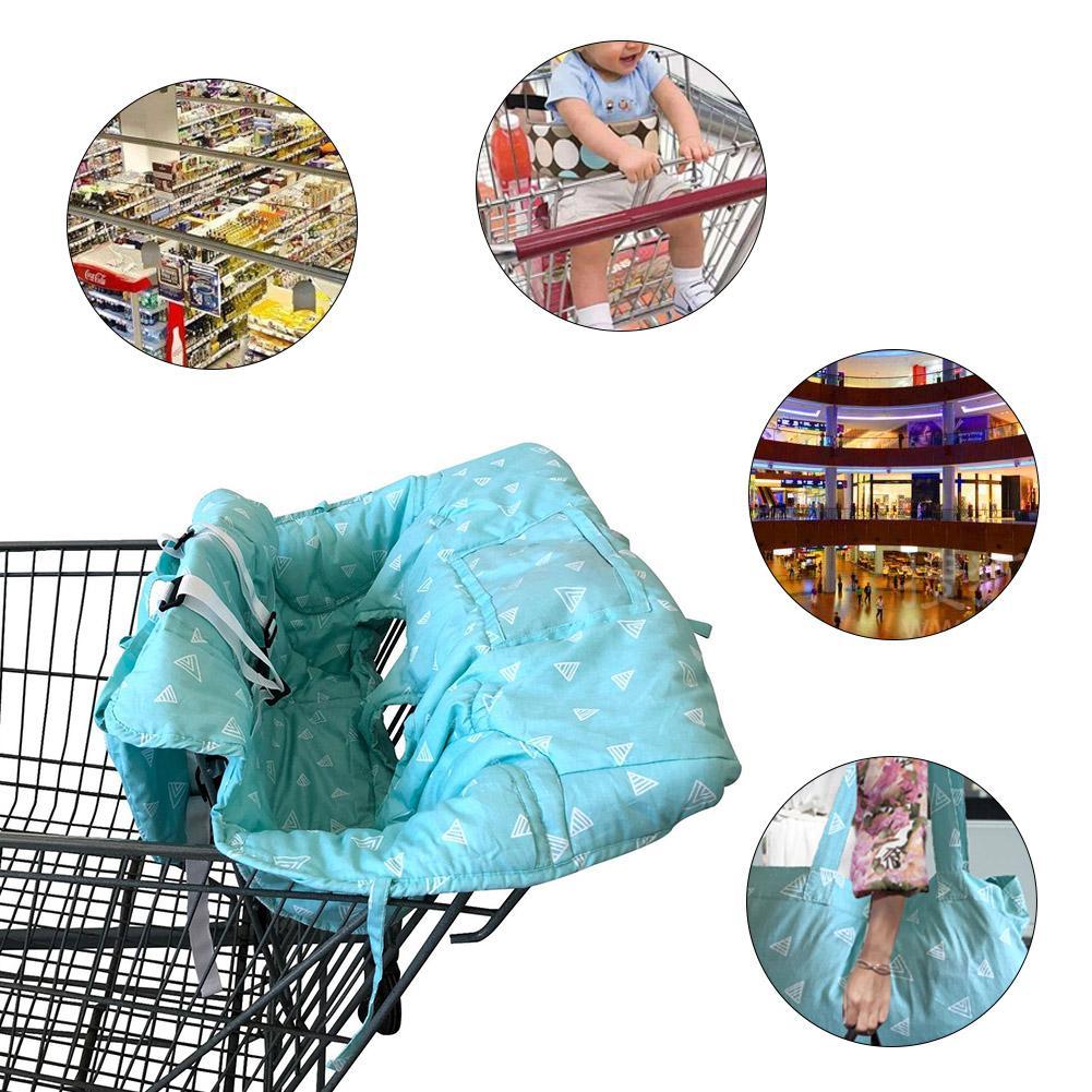 Портативная Детская Коляска Подушка супермаркет торговый обеденный стул коврик автомобильный защитный коврик безопасное сиденье для путешествий для детей
