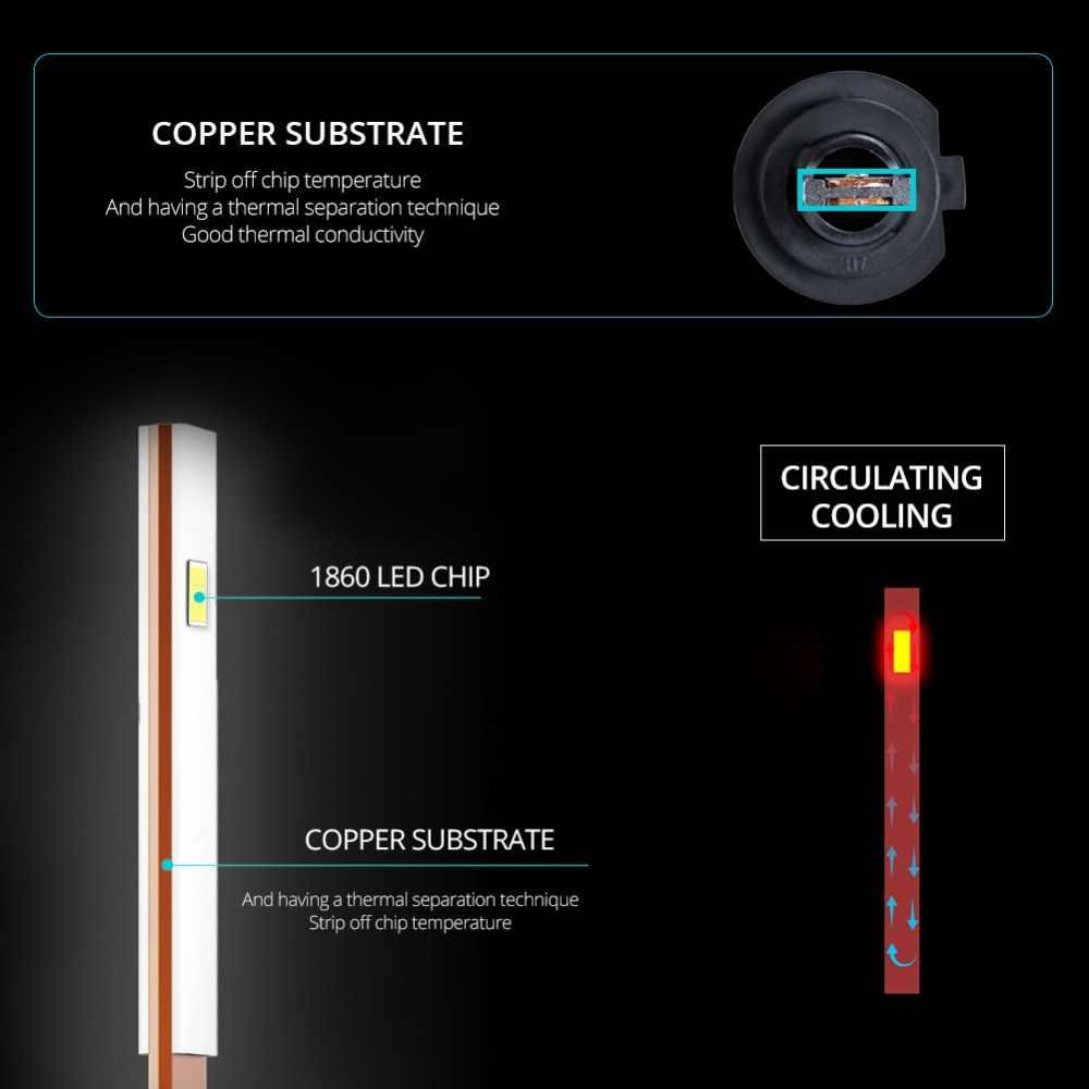 Aceersun H4 LED H7 LED H11 Car Headlight Bulb 12V 24V HB4 Led HB3 H1 9005 9006 3000K 4300K 6500K 12000K 2PCS K3 Headlamps