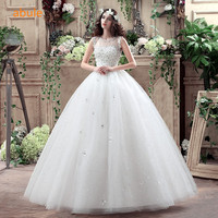 Abule new variety princess wedding dress lace lace up the beading bridal gown all size bridal.jpg 200x200