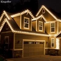 220V EU Plug 100M 600Leds Decorative Led Lights Waterproof String Fairy Lights Christmas Lights Outdoor For Patio Holiday Decor
