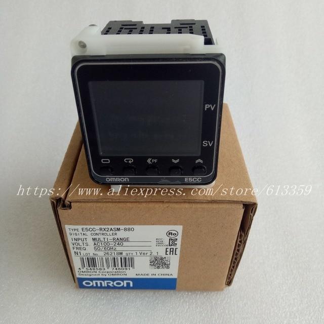 E5CC RX2ASM 880 Omron טמפרטורת בקר 100% מקורי אמיתי חדש