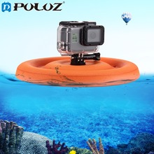 PULUZ Water Sports Camera Accessories EVA Floaty Buoyancy Pet Round Frisbee For GoPro HERO5 Session5 4 Session 4 3 3+2 1