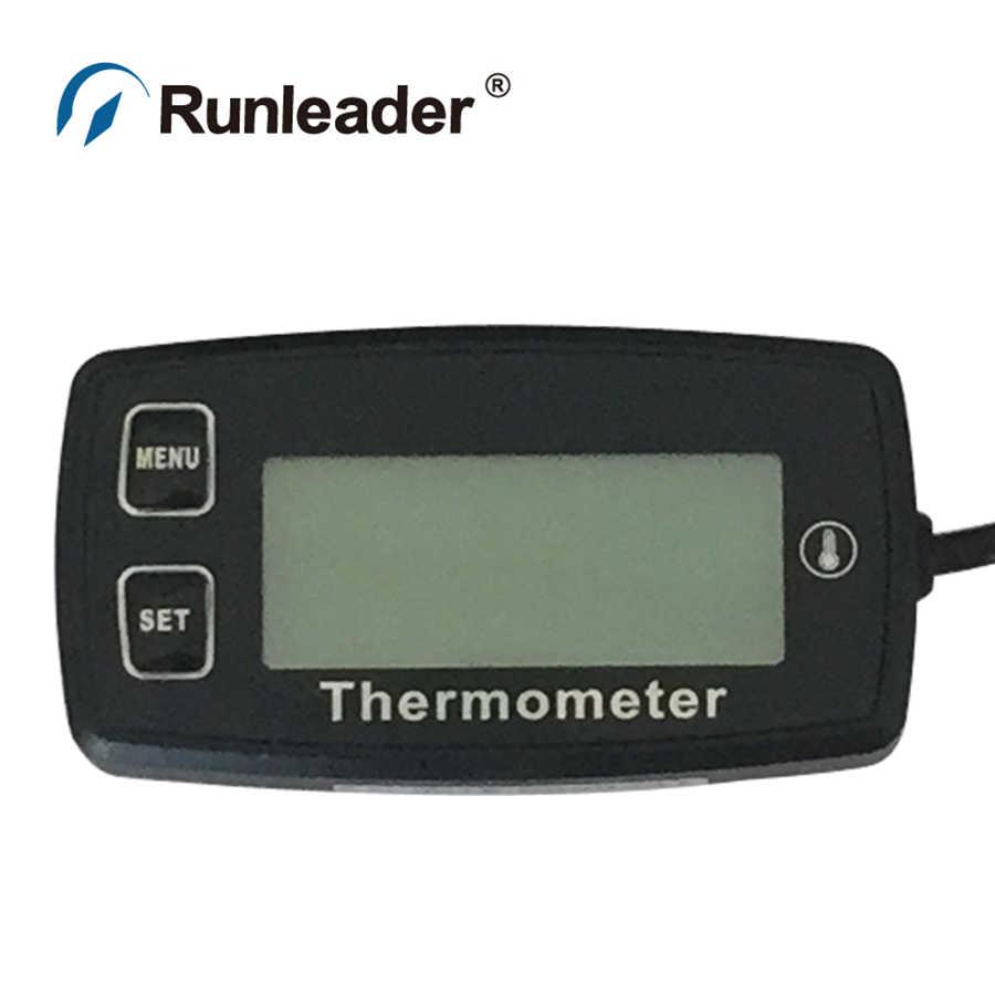 300 Grados Celsius teom/ómetro medidor de Temperatura para Motocicleta de Gas cortadora de Barcos Marinos Dirt Quad Bike AstriuK TM003A Digital TS003 PT100-20
