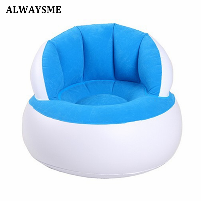 ALWAYSME Inflatable Baby Chair Portable Baby Seats Dining Lunch Chair Seat Feeding Chair Stretch Wrap Baby Sofa No Inflator Pump