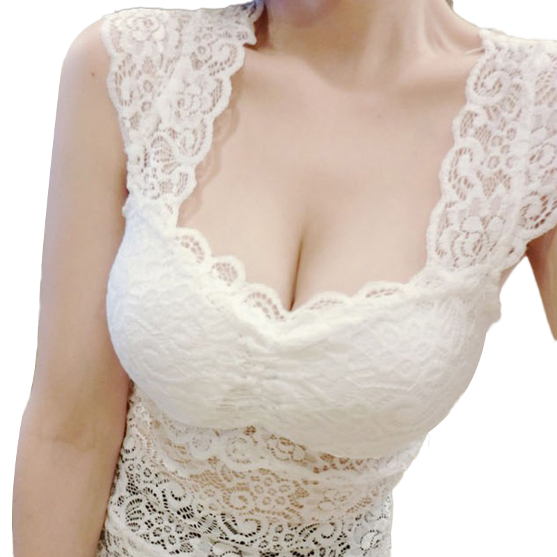 Nevettle Sexy Lace Bustier Top Women Backless Summer Short sleeve Tank tops T shirt Black White