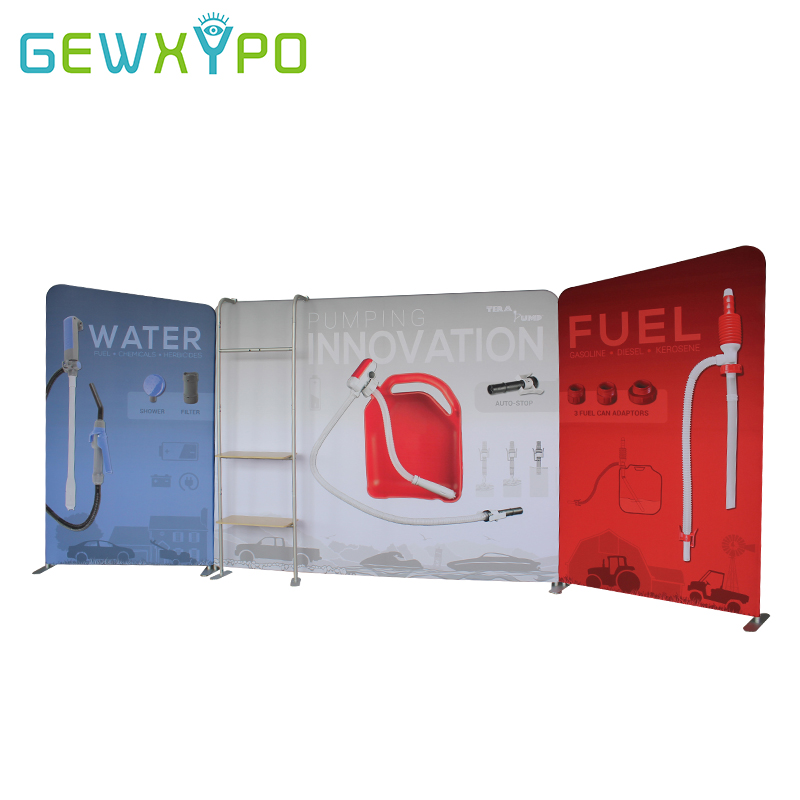 Exhibition Booth Banner : Ft trade show high quality stretch banner tension fabric display