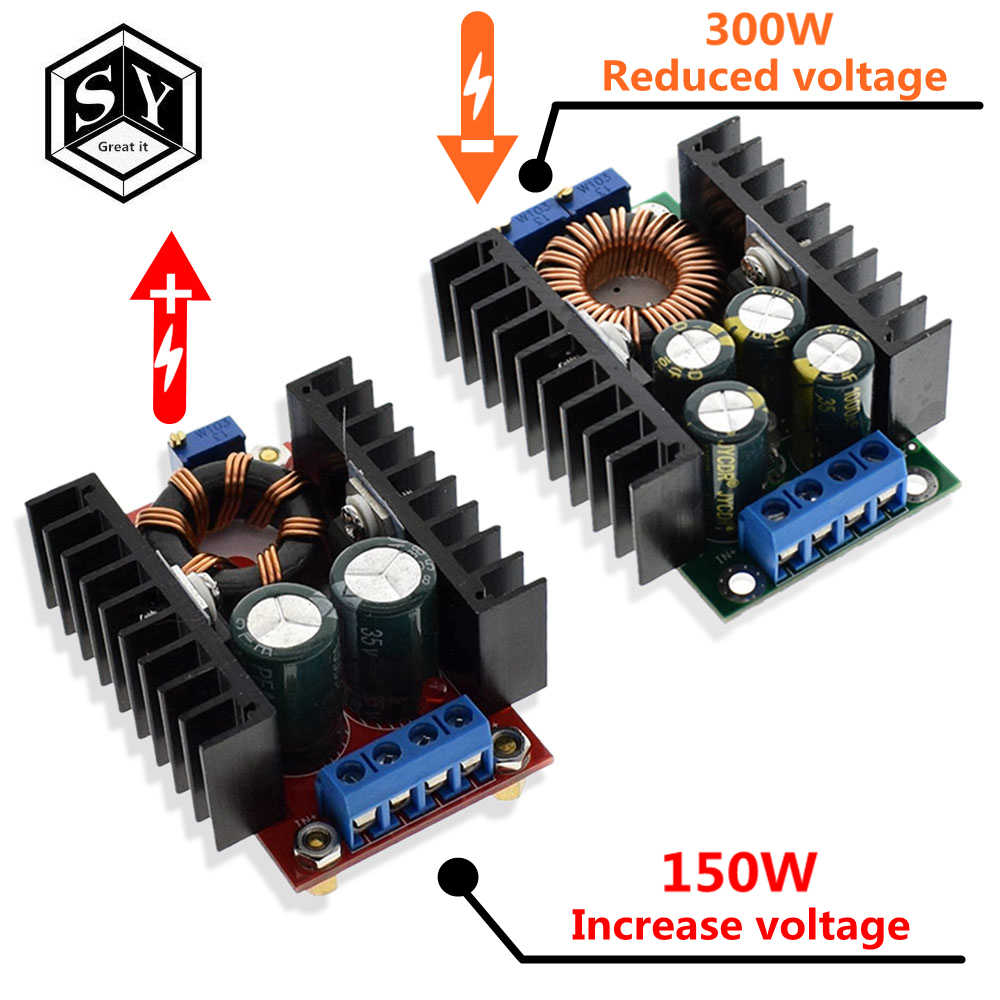 1PCS GREAT IT DC DC 9A 300W 150W Boost Converter Step Down Buck Converter 5-40V To 1.2-35V Power module XL4016