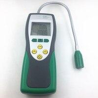 Новый профессиональный ручной Портативный горючих газов и сигнализации натуральный Высокая точность утечки газа анализатор LPG Мониторы ме
