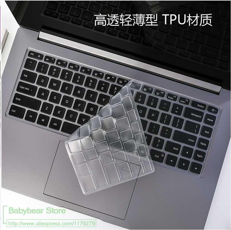 Đối với Xiao mi mi Máy Tính Xách Tay Pro 15 15.6 i7-8550U i5-8250U Máy Tính Xách Tay Đầy Màu Sắc Silicone Bàn Phím cover Bảo Vệ da Máy Tính Xách Tay