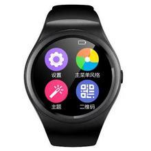 Neue smart watch v365 kreis smartwatch schrittzähler fitness tracker sim tf mobilen uhr für ios android smart watch android