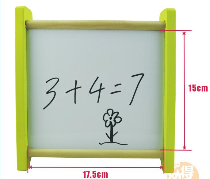 Kids Wooden multi purpose computational frames Drawing board Children 39 s Wood toys Educational AIDS Magnetic Blackboard toys GIFT in Math Toys from Toys amp Hobbies