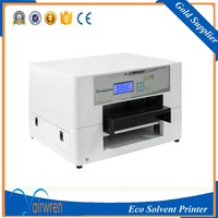 Hot Sale A3 Digital Flatbed Solvent Printer Inkjet Printingmachine For Acrylic Plate