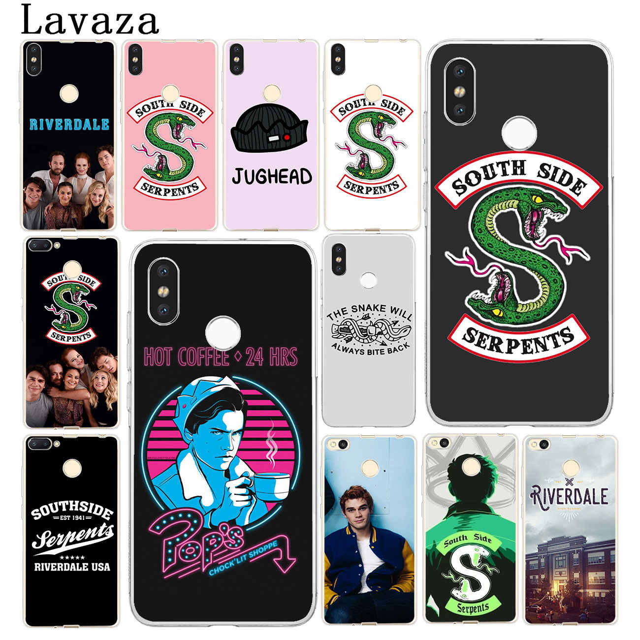 Lavaza Riverdale South Side Serpents Hard Phone Case for Xiaomi Redmi k20 7A 6A 4A S2 GO Note 7 5 6 Pro 4 4X Plus Cover