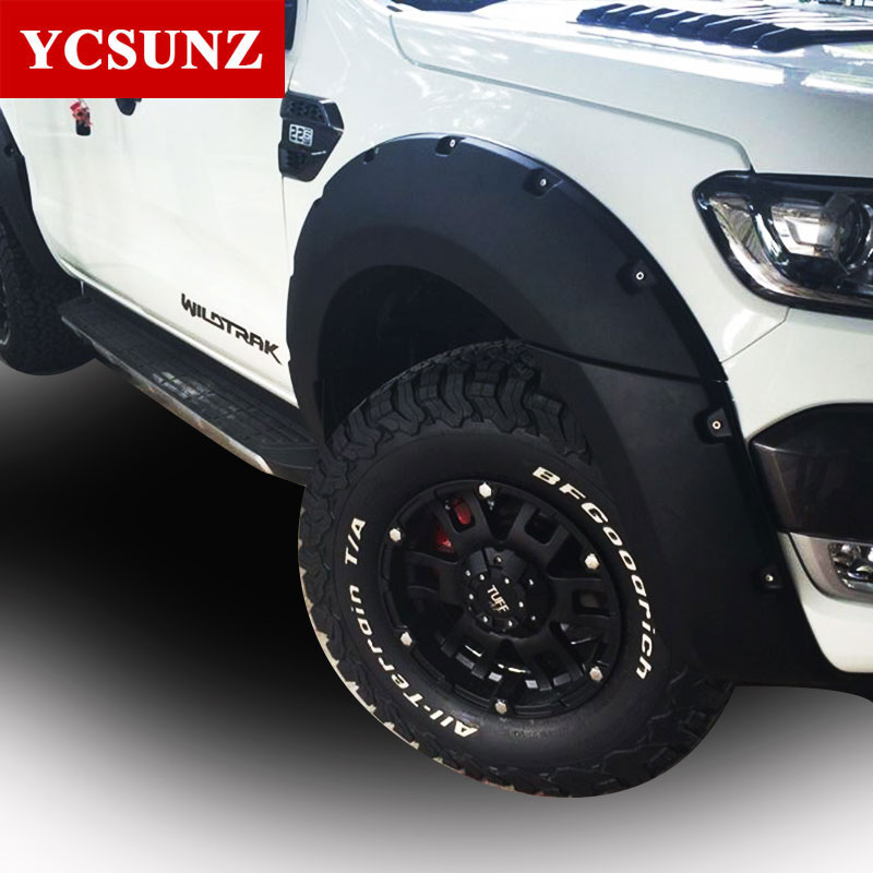 2016-2017 Fender Flare For Ford Ranger Wildtrak Accessories Black Color Mudguards For Ford Ranger & Compare Prices on Fender in Car Parts- Online Shopping/Buy Low ... markmcfarlin.com