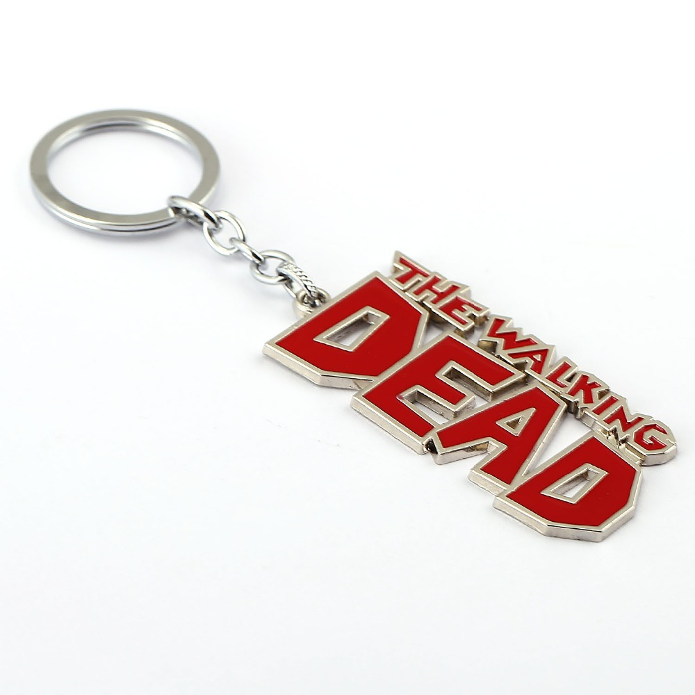 2571a958e4643 MS Jewelry The Walking Dead Keychain AMC Key Rings Holder For Gift Chaveiro  Car Key Chain Men Souvenir