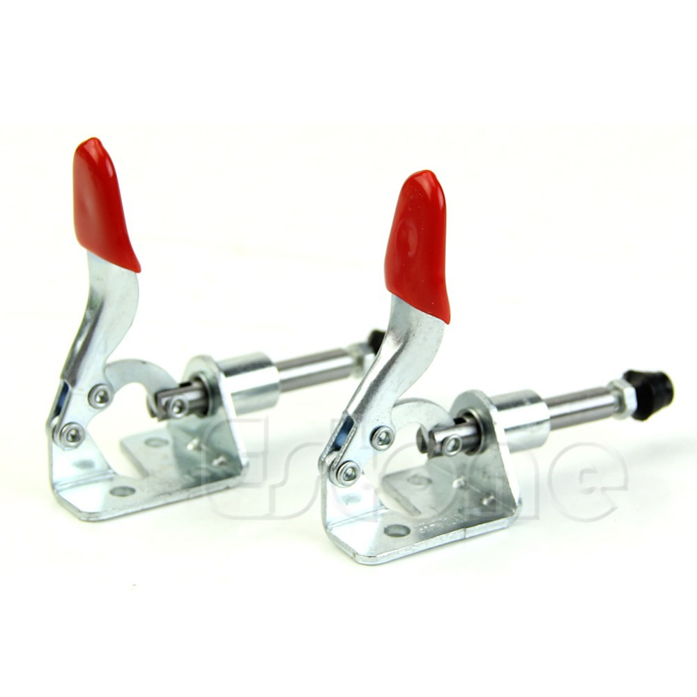 Free Shipping Hot 2Pcs Hand Tool Toggle Clamp Vertical Clamp 301AM GH-301AM цены онлайн