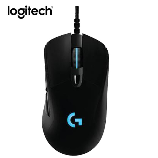 Logitech G403 Wired Gaming Mouse Ergonomic 12000DPI Mice RGB Light Optical Mause logitech g pro gamer gaming mouse 12000dpi rgb wired mouse official genuine usb gaming mice for windows 10 8 7