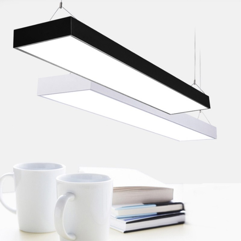 New simple modern led2 20w36w72w pendant lights office lighting new simple modern led2 20w36w72w pendant lights office lighting meeting room business lamps ac110v 220v free shipping in pendant lights from lights mozeypictures Choice Image