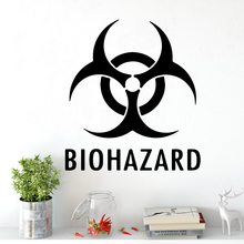 New Design biohazard Home Decoration Wall Stickers For Living Room Decor Bedroom Creative Mural Decorative Vinyl stickers muraux