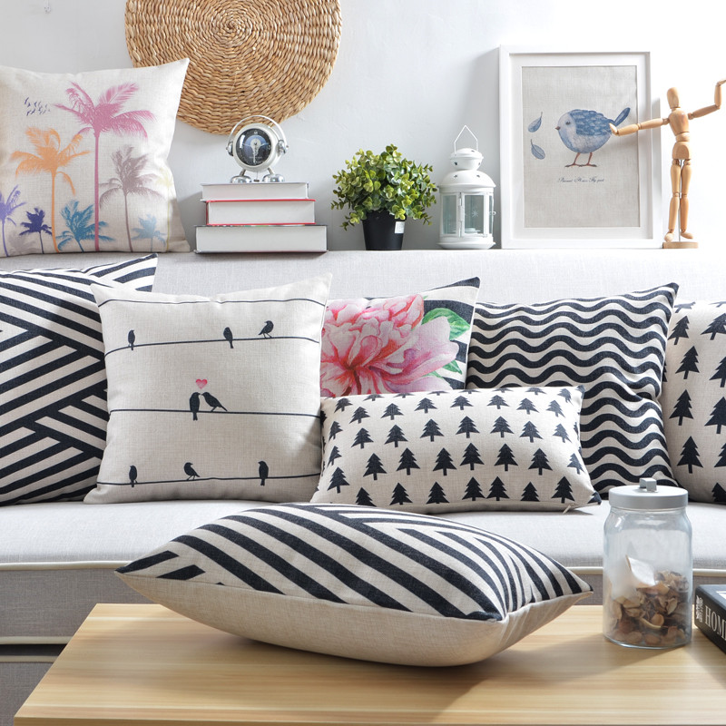 Nordic Style Cushions Covers Decorative Pillows Scandinavian minimalist  Cushions Covers Home Decor Geometric Pillowcase For Sofa-in Cushion Cover  from Home ...