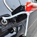 Nueva manguera de bomba de sifón Manual portátil para coche  bomba de transferencia de aceite de Gas de plástico|Bomba de succión de aceite| |  -