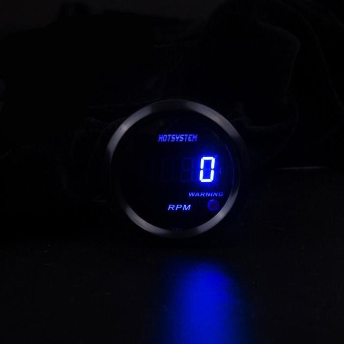 Typ Tacho Gauge Leistung 12 V Max 03A Einheit PRM Stil Blau Digitalanzeige Messgenauigkeit 95 Diese Serie Ist Voll Elektronische Mit Einem
